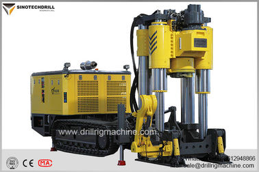 132Kw Raise Bore Drilling Machine 100-300m Raise Depth DI Standard Rod Remote Control