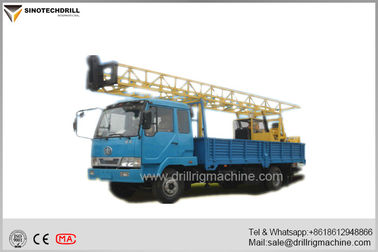 Trung Quốc Water Well Drilling Rigs , Borehole Drilling Equipment 3MT Hoist Single Line Lifting Capacity nhà cung cấp