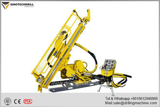 Trung Quốc Deep Hole Hydraulic Underground Core Drill Rig With PQ & HQ Max Rod Size 160Cc Rotation Motor nhà cung cấp