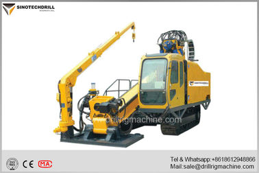 Horizontal Directional Drilling Machine with 8° - 18° Drilling Angle 610KN Max  Feeding Capacity